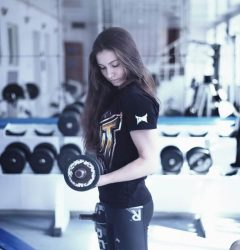 Gym girl - Waiting for a new competition