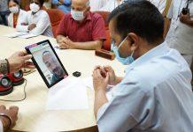 COVID patients in LNJP will now be able to talk to family members through video conferencing: CM Arvind Kejriwal