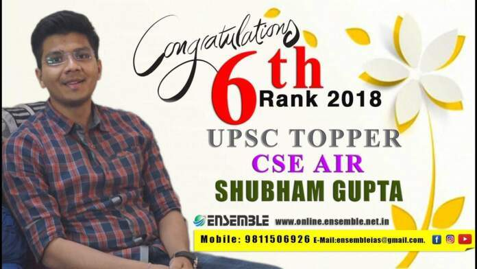 Shubham Gupta'