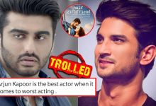 Arjun Kapoor trolled for replacing Sushant Singh Rajput in 'Half Girlfriend'