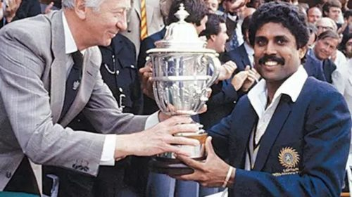 In 1983, Indian Team made history by winning the Cricket World Cup