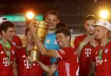 Bayern Munich won the German Cup by defeating Leverkusen