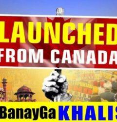 Khalistani terrorists running anti-India propaganda from Canada 🇨🇦