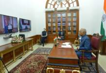 ENVOYS OF THREE NATIONS PRESENT CREDENTIALS THROUGH VIDEO CONFERENCE