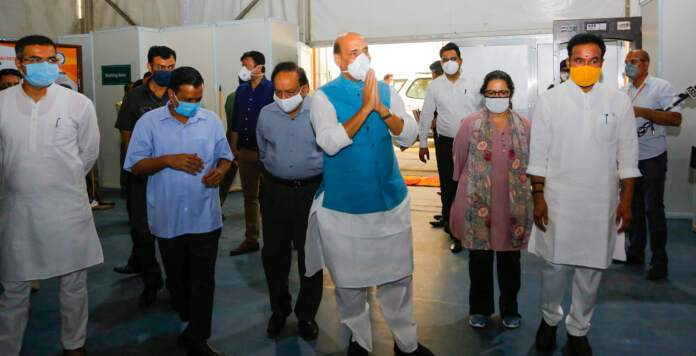1,000-bedded hospital with 250 ICU beds operational COVID Hospital in Delhi