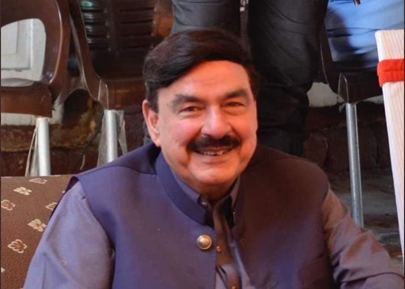 railway minister sheikh rashid attack Bilawal Bhutto Zardari Party threw eggs