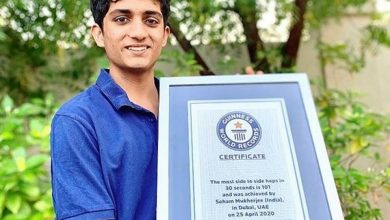 Photo of 17 year old Delhi boy breaks Guinness World record for most hops
