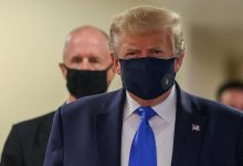 Coronavirus: US President Donald Trump seen wearing a mask for the first time