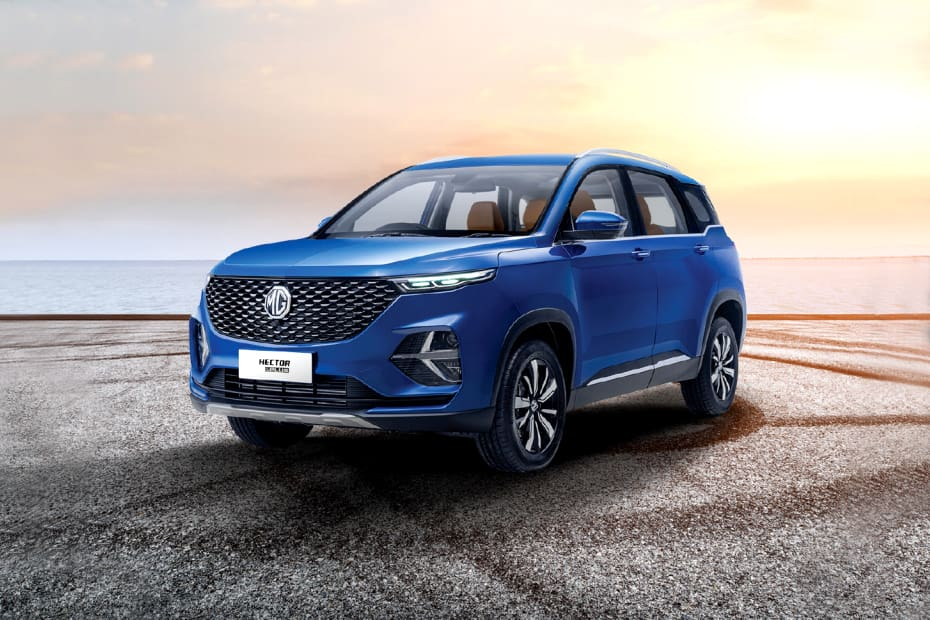mg hector price on road