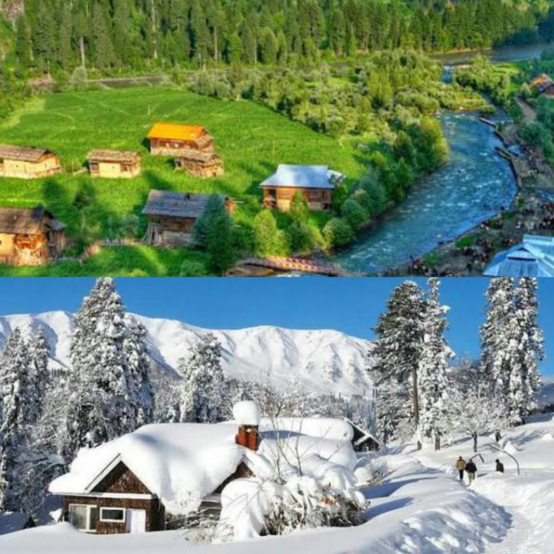 Are you craving for some ice this summer?here are 10 astonishing places besides Srinagar to visit at Kashmir!