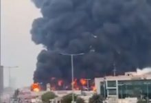 Fire breaks out at UAE Ajman market after Beirut blast (VIDEO)