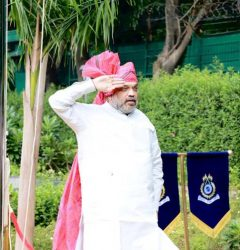 Union Home Minister Amit Shah conveys greetings to mark Independence Day