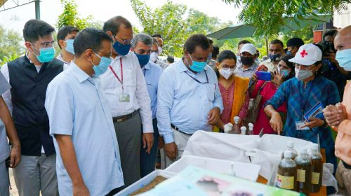 CM Kejriwal visits Pusa Agricultural institute today to see the bio-decomposer technique developed by scientists of IARI, terms the technique practical and doable for preventing stubble burning pollution