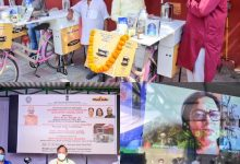 MPs Shri Arun Singh & Meenakashi Lekhi launch KVIC's Innovative Project DigniTEA in Delhi