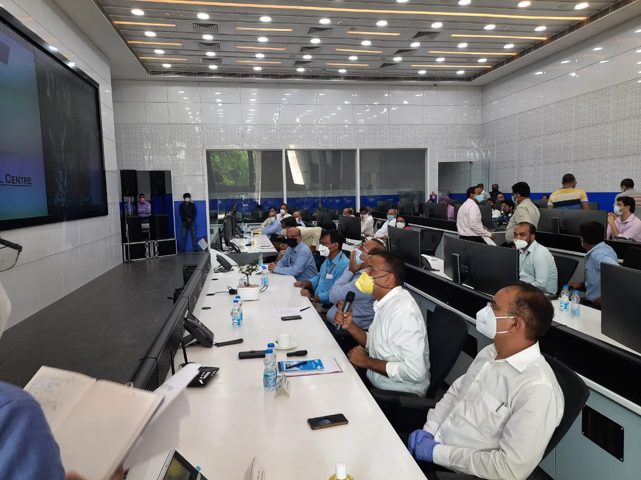 NDMC shares the experience of Integrated Command and Control Centre with other Civic Bodies of Delhi