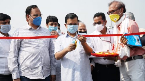 CM Kejriwal inaugurates Seelampur-Shastri Park flyover, congratulates the people of East Delhi