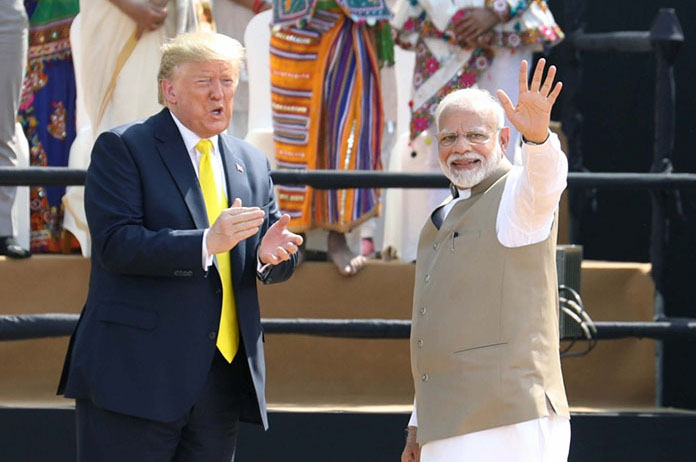 Look at India, how dirty, the air there is so dirty: Trump