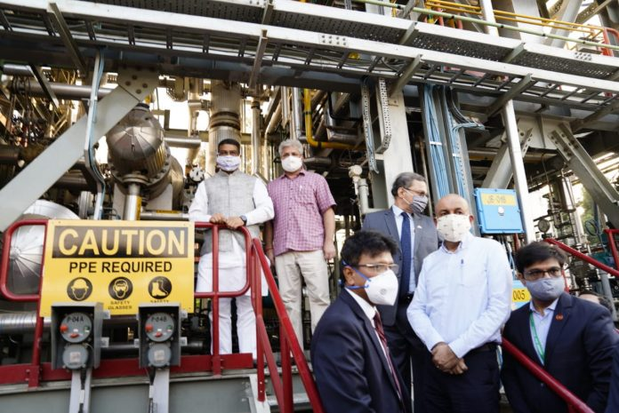 Delhi Transport Minister Kailash Gahlot inaugurates HCNG plant & Dispensing Station