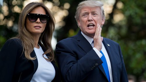 US President Trump, wife Melania Corona infected