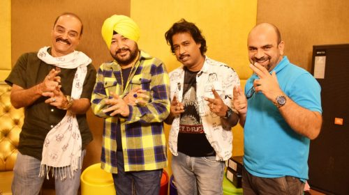 Karan Razdan Kreatives started their maiden venture with a song recording with Daler Mehndi