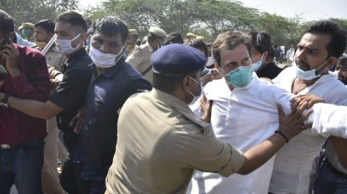 Rahul, who was going to Hathras to meet the family of the rape victim, was released after the arrest
