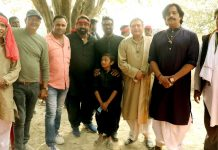 Ganesh Acharya, Ravi Kishan ,Remo D'souza , Manoj Joshi & others were seen shooting Climax scene of film Dehati Disco