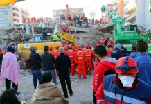 The death toll due to the earthquake in Turkey is114