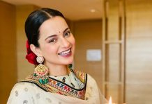 Kangana Ranaut welcomed 'Devi' to Diwali at home