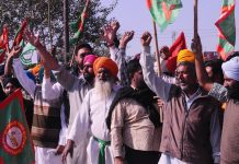 Kisan agitation continues on 5th day on Monday, protesters are hanging on the border