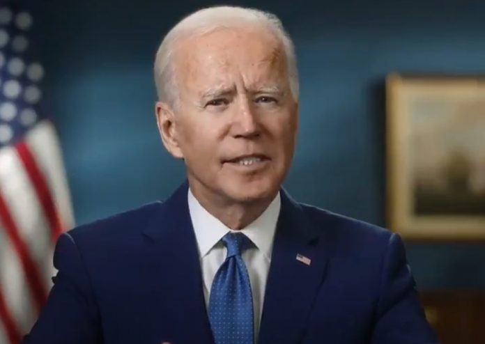 Biden said that now is the time to apply ointment