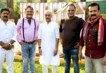 Pankaj Berry , Mushtaq Khan ,Adi Irani shoots for Hindi film Trahimam