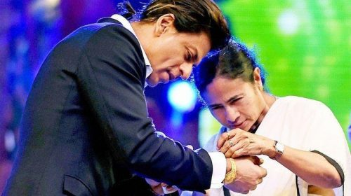 Mamta Banerjee congratulates 'Charming brother' Shahrukh on his birthday