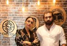 Actress Swara Bhaskar Inaugurated Emperos Salon In Delhi