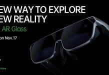 Oppo will launch new generation augmented glass on 17 November