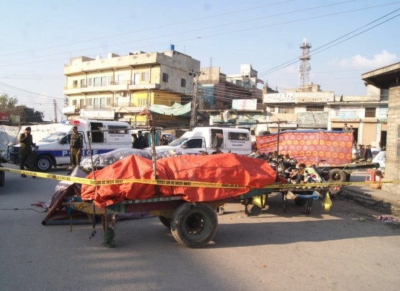 In the explosion in Rawalpindi, 25 injured