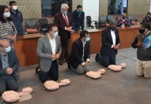 NDMC Organises Basic Life Support training Program for its ground-level staff