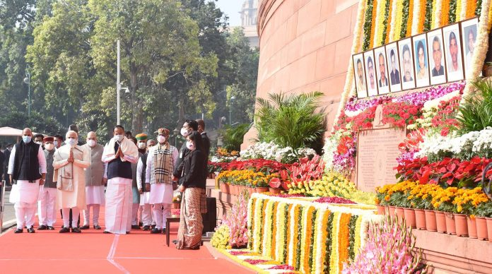 Never forget the dastardly attack on Parliament: PM Modi
