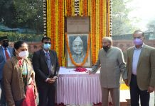 NDMC Pays Tribute to First President of India Dr. Rajendra Prasad in New Delhi