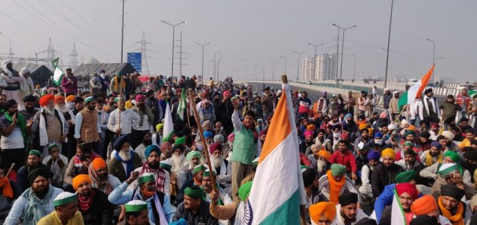 Congress gave support to farmers' Bharat Bandh on 8 December