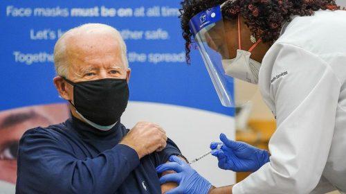 Biden gets the Corona vaccine