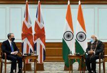 Modi accepts invitation for Britain's G7 summit