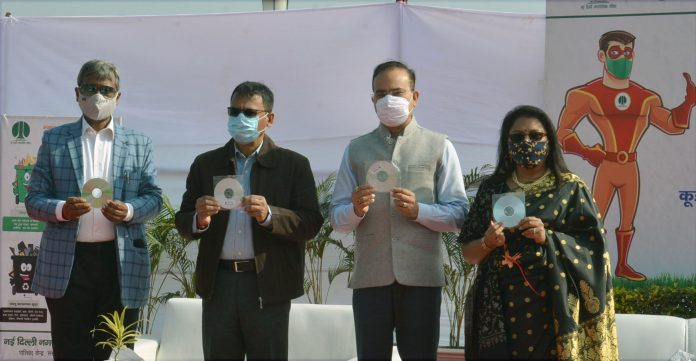 NDMC Chairperson launches Swachhta Song to create awareness among citizens for behavior change