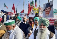 Farmers sitting on hunger strike at Ghazipur border, Tikait said - the struggle will continue