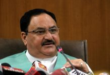BJP president JP Nadda became Corona positive