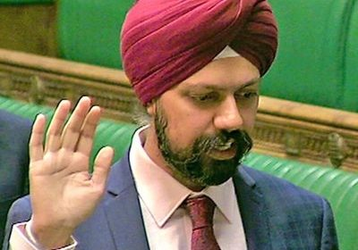 Britain's Sikh MP Dhesi asked Johnson to clarify his stance on the farmers' issue