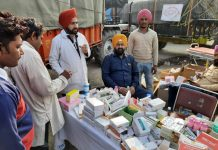 Aam Aadmi Party MLAs are spending the night in farmers' camp on the Delhi border