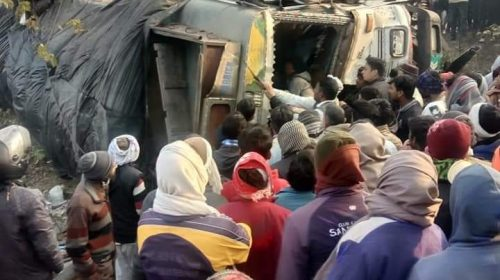 10 killed in a truck-bus collision in Uttar Pradesh's Moradabad