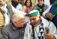AAP leaders, ministers meet protesting farmers on Delhi's borders