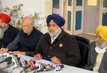 Sukhbir S Badal condemns BJP for instigating violence at Singhu and Ghazipur