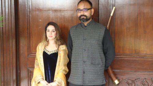 "Famous Punjabi Singer Megha Chopra Spotted In Delhi for the promotions Of Her upcoming Song ""Lohri Aundi Lohri"""